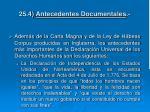 25 4 antecedentes documentales
