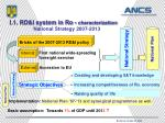 i 1 rd i system in ro characterization national strategy 2007 2013