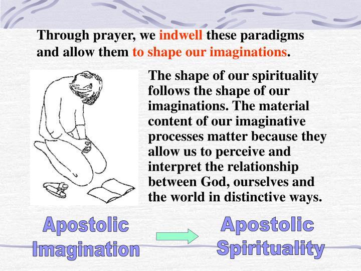 Through prayer, we