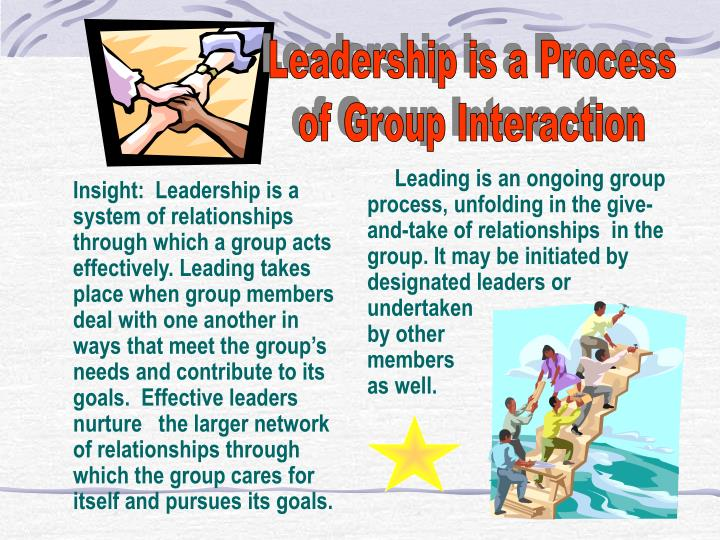 Leadership is a Process
