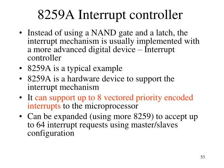 8259A Interrupt controller