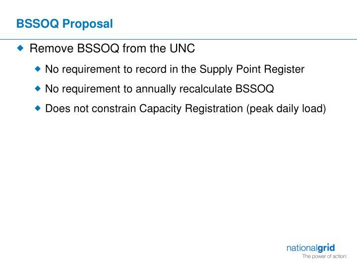 BSSOQ Proposal