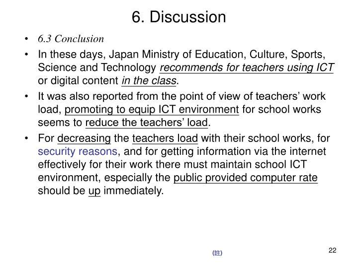 6. Discussion