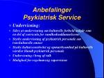 anbefalinger psykiatrisk service4