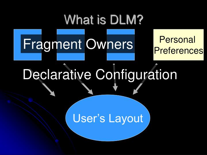 What is DLM?