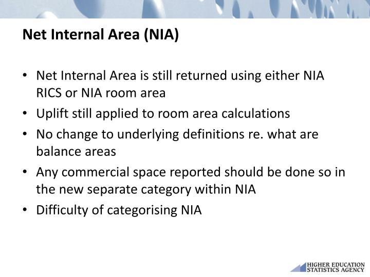 Net Internal Area (NIA)