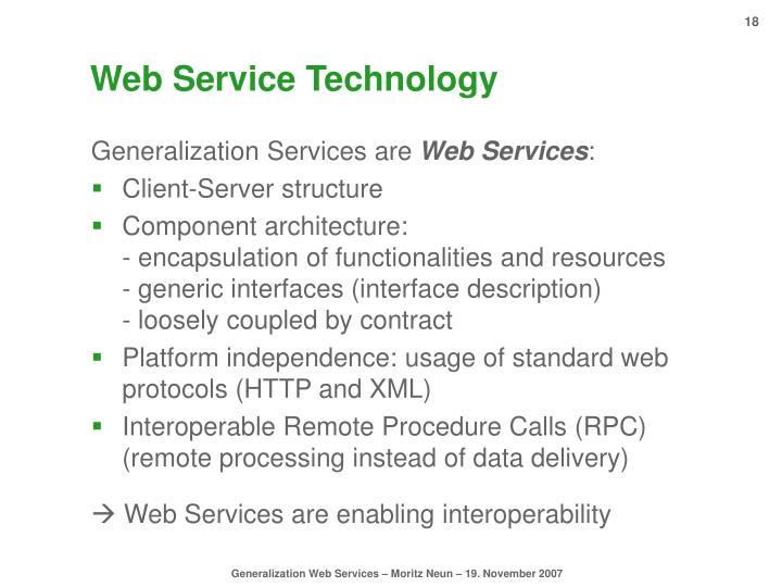 Web Service Technology
