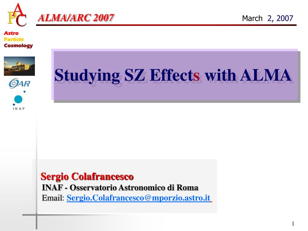 Almaemail ppt - alma/arc 2007 march 2, 2007 powerpoint presentation