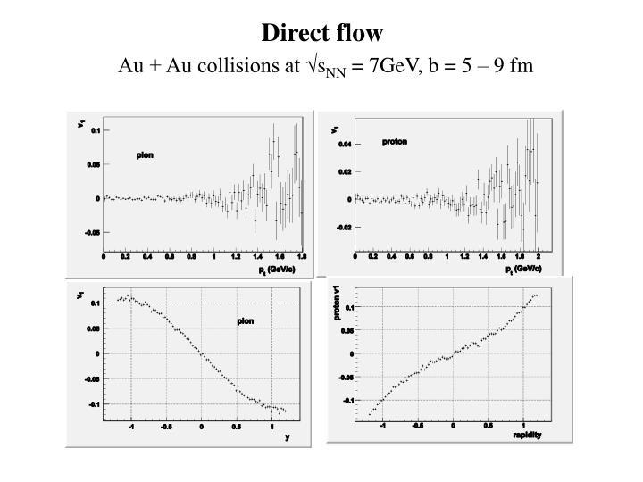 Direct flow