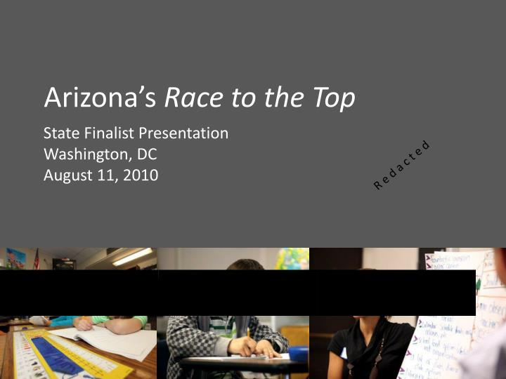 arizona s race to the top n.