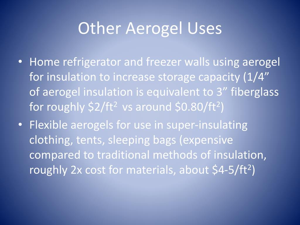 PPT - Aerogel- World's Lightest Solid PowerPoint