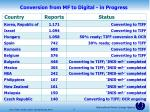 conversion from mf to digital in progress1