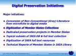 digital preservation initiatives