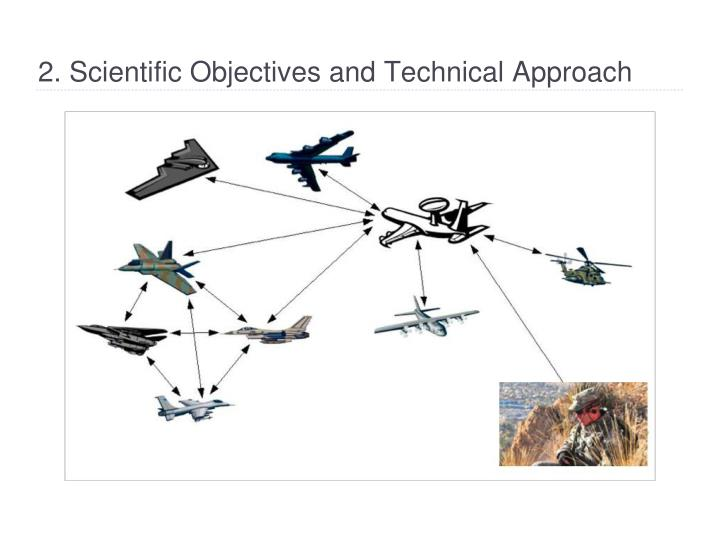 2 scientific objectives and technical approach