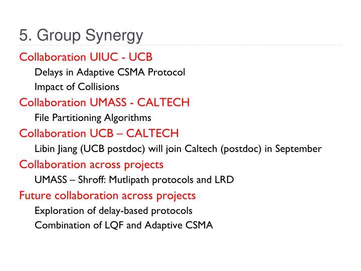 Collaboration UIUC - UCB