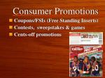 consumer promotions1