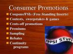 consumer promotions6