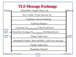 tls message exchange