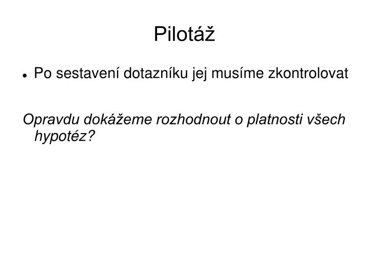 Pilotáž