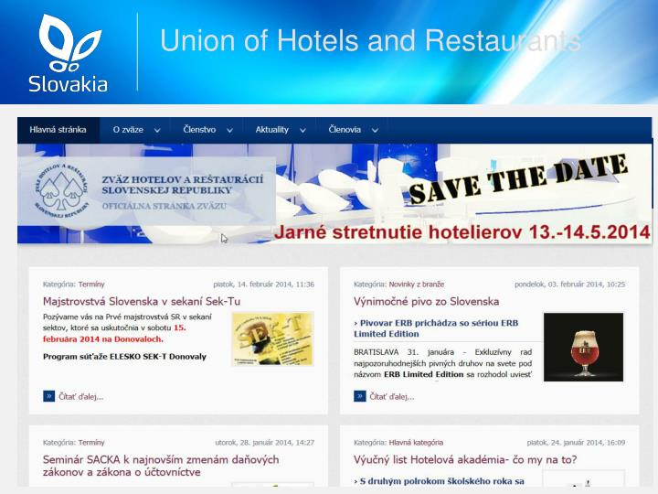 Union of Hotels and Restaurants