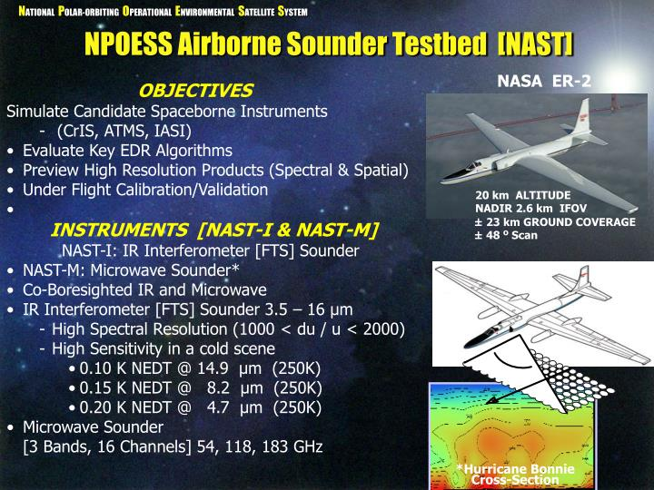 NPOESS Airborne Sounder Testbed  [NAST]