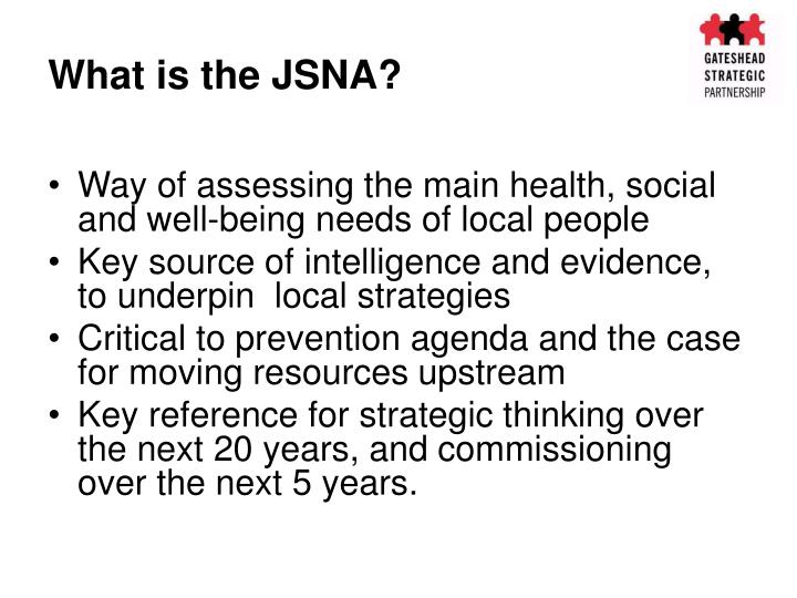 joint strategic needs assessment How can the answer be improved.