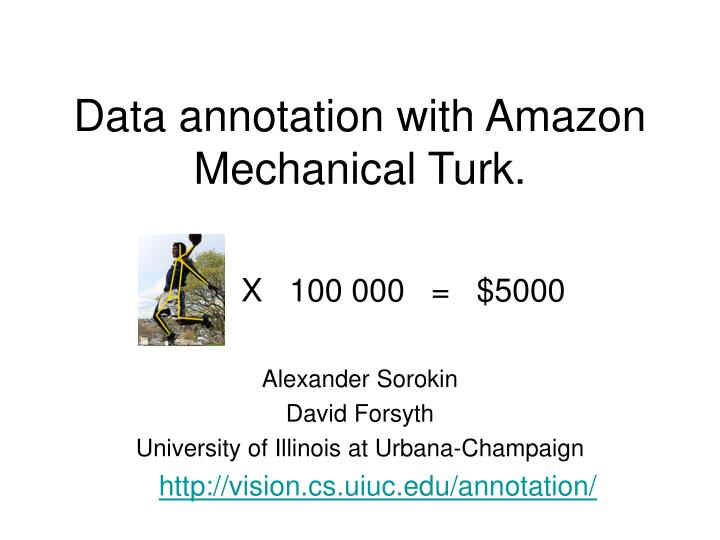 data annotation with amazon mechanical turk n.