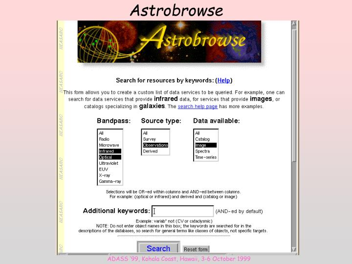 Astrobrowse