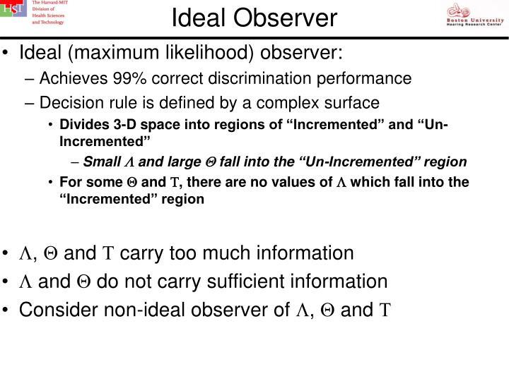 Ideal Observer