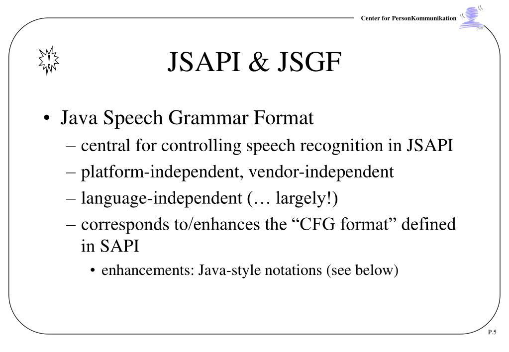 Java jsapi download