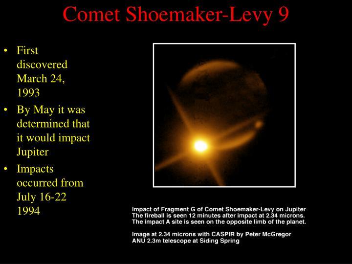 Comet Shoemaker-Levy 9