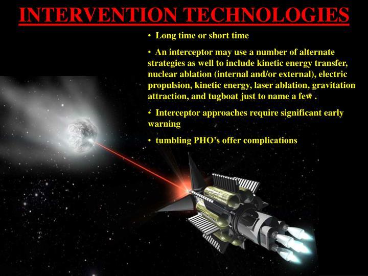 INTERVENTION TECHNOLOGIES