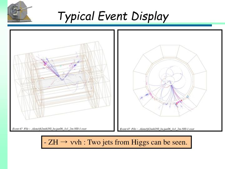 Typical Event Display