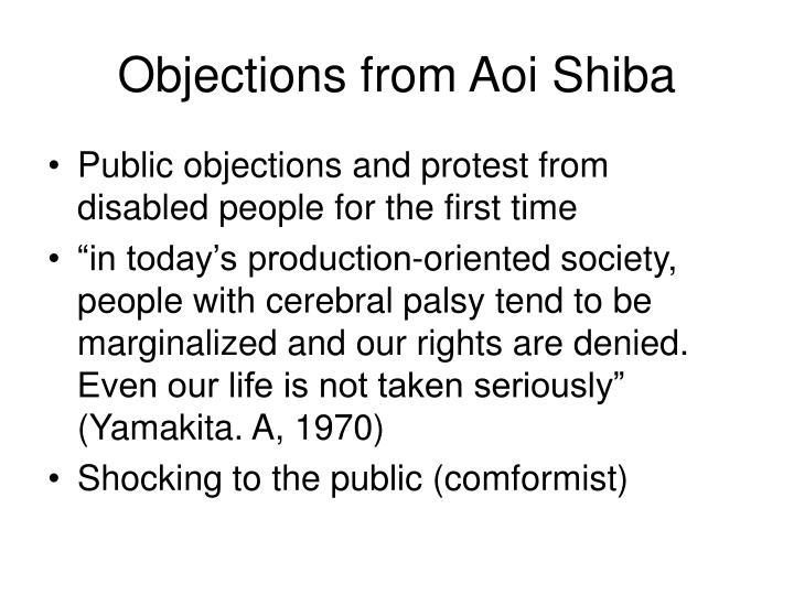 Objections from Aoi Shiba