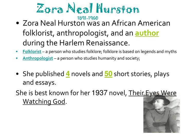 Zora Neal Hurston