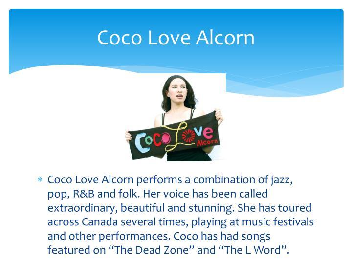 Coco love alcorn