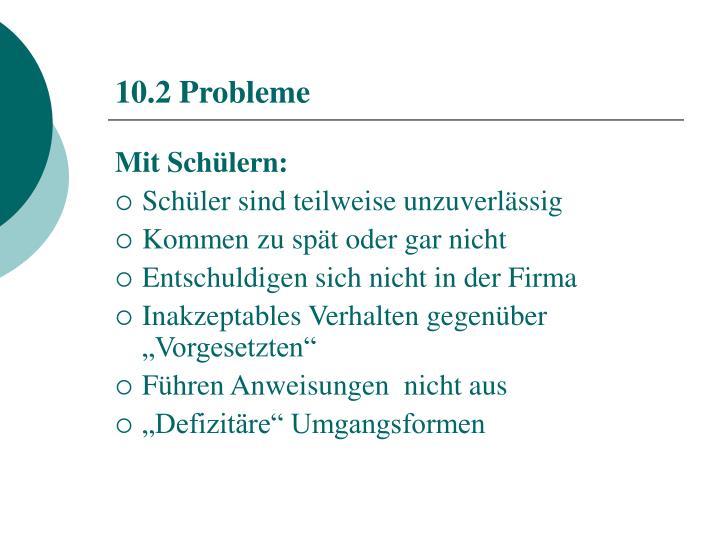 10.2 Probleme