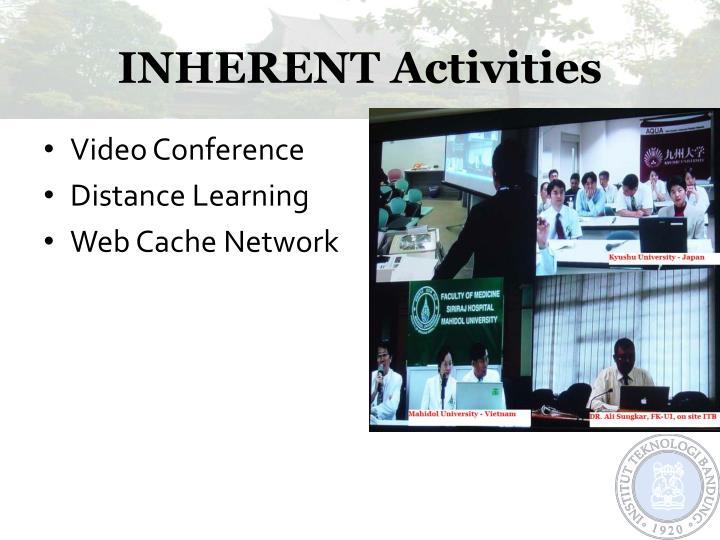 INHERENT Activities