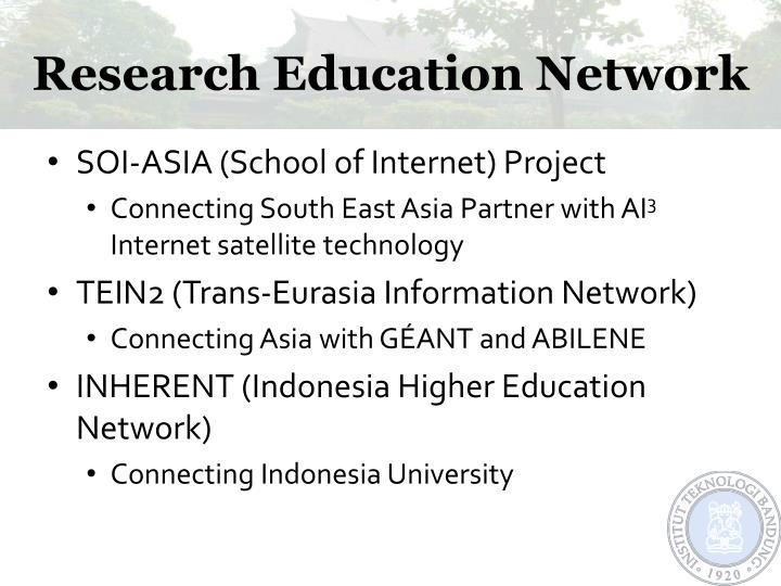 Research education network