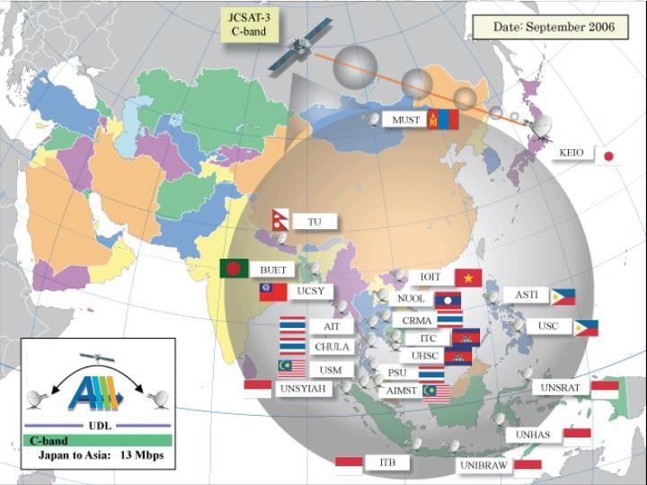 SOI-ASIA Map