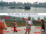 dia de campo 18 de septiembre