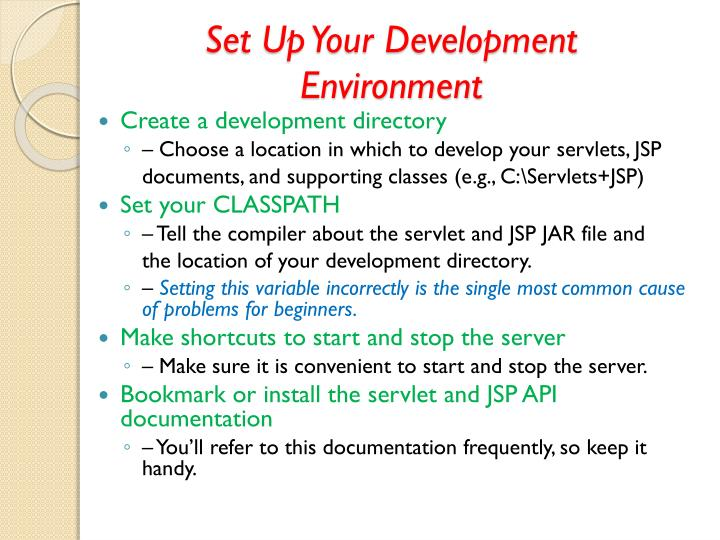 Set Up Your Development