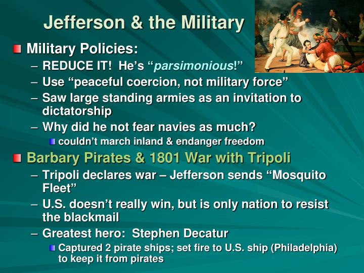 Jefferson & the Military