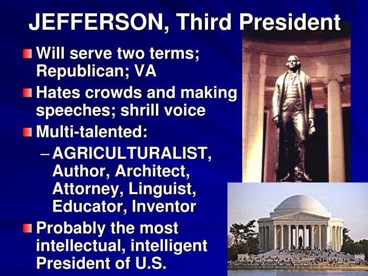 Jefferson third president