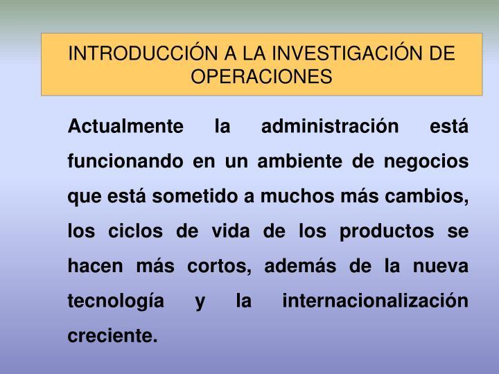 Introducci n a la investigaci n de operaciones