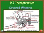 d transportation