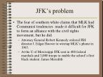 jfk s problem1