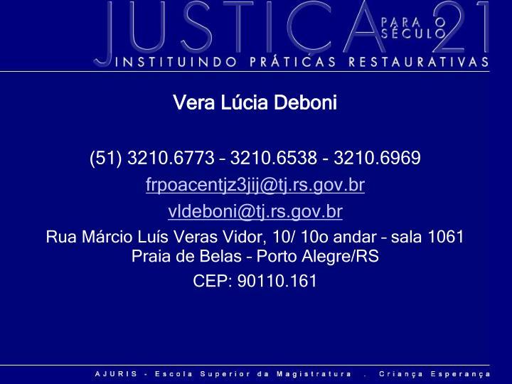 Vera Lúcia Deboni
