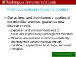 infectious diseases know no borders1
