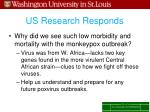 us research responds